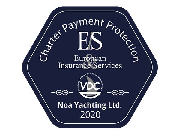 Insurance confirmation VDC Charter Seal 2020