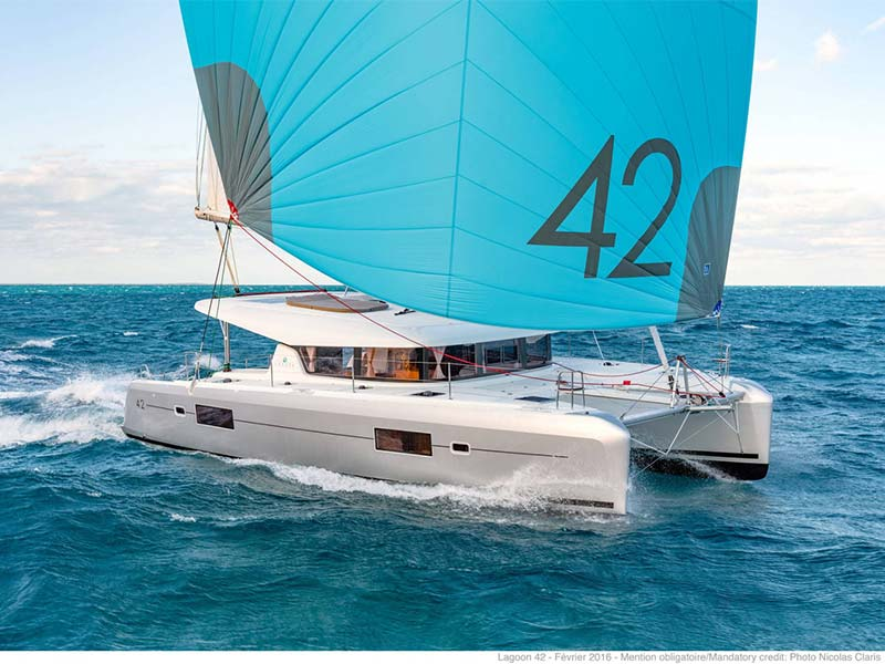 Lagoon 42 - New fleet addition 2020