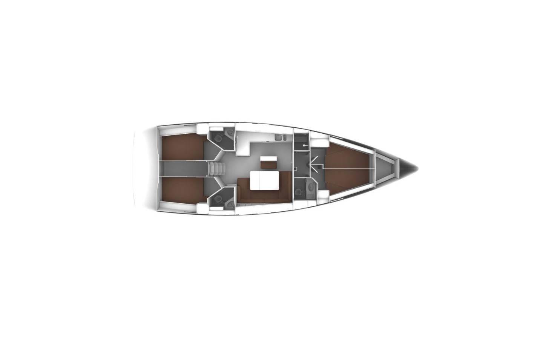 Bavaria Cruiser 46 Mila- A/C, GEN