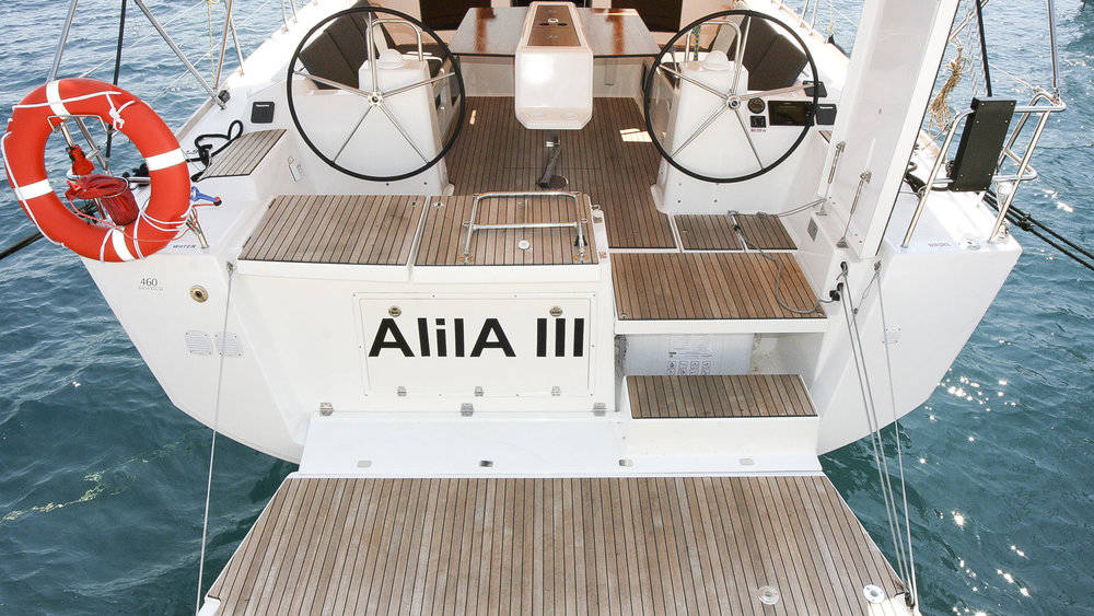 Dufour 460 Grand Large - Alila III joining our 2022 fleet