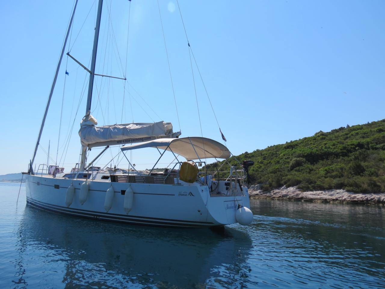 Hanse 470 Shadow of the wind