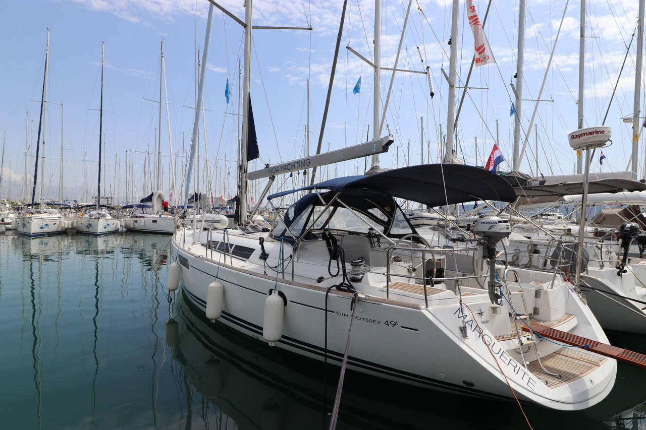 Sun Odyssey 49i Marguerite